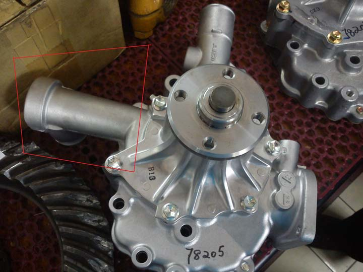 toyota 8 series water pump assy 1